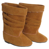 Camel Slouch Boots