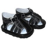 O39.  Black Sandals