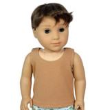 Camel Tank Top for American Girl Doll
