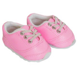 X45.  Medium Pink No-Tie Sneakers