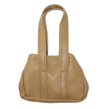Fits 18 inch American Girl doll Includes: purse Tan purse with Velcro dot closure.