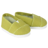 J65.  Kiwi Green Canvas Shoes
