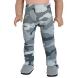 L30.  Gray Camo Leggings.