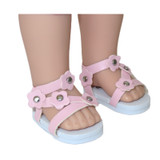 14 inch WellieWishers sandals.