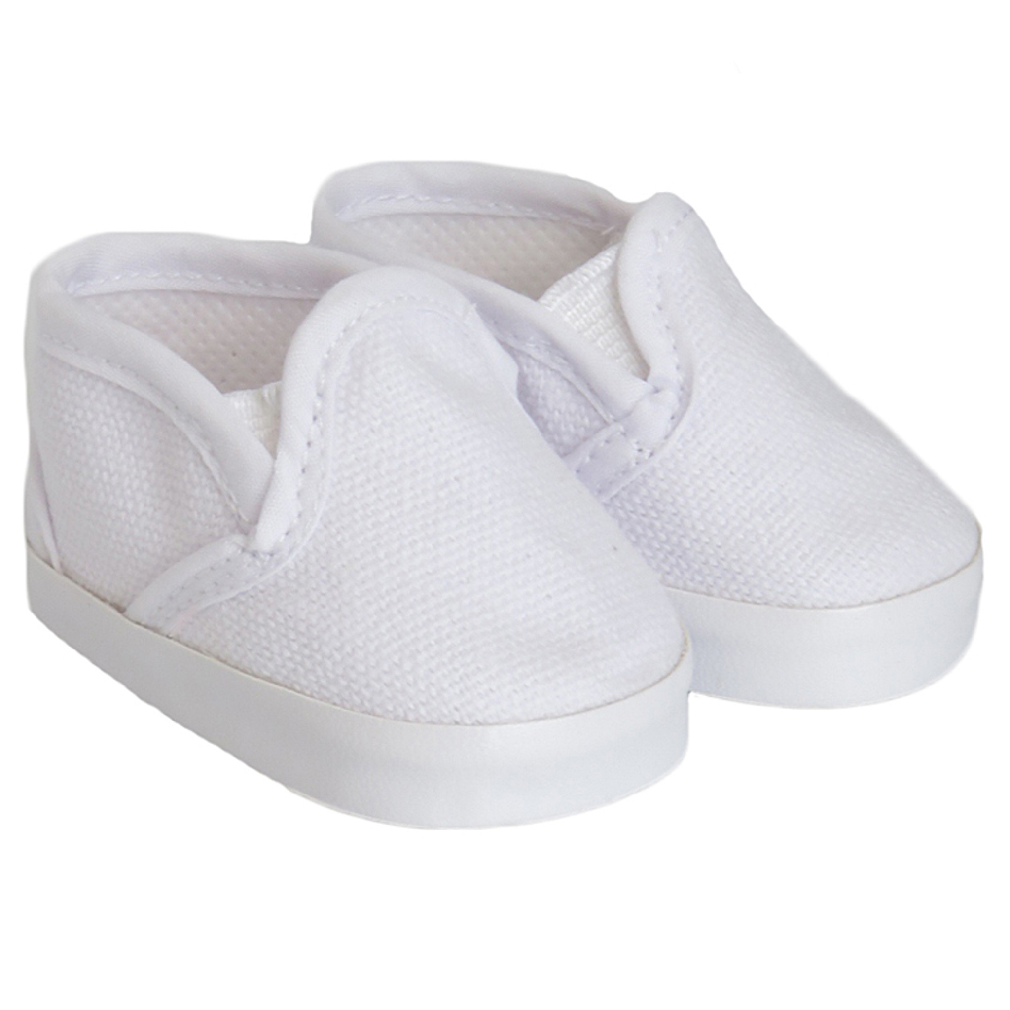 2 Paar Kunststoff Puppe Canvas Schuhe Sneakers für 18 Zoll AG American Doll