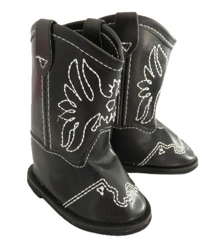 American girl or boy doll cowboy boots