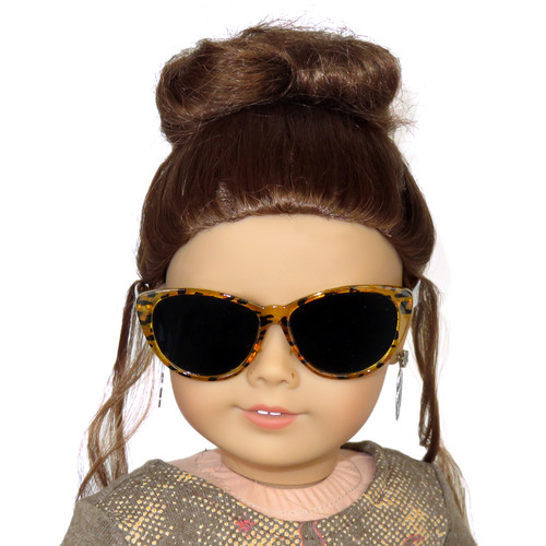Leopard Glasses for 18 inch dolls