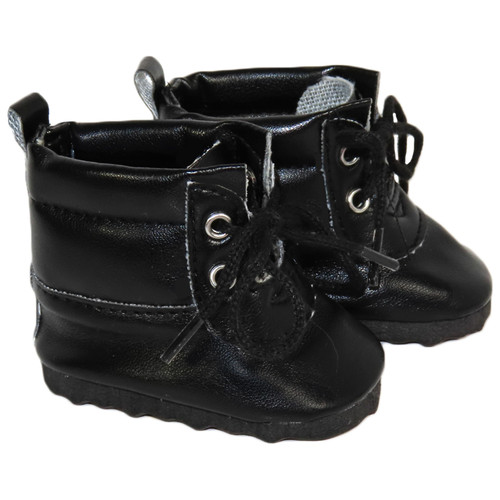 Black Padded Boots