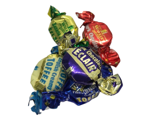 Assorted toffees