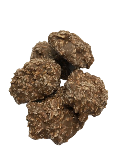 Chocolate and coconut clusters