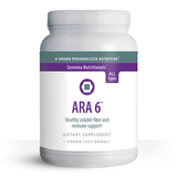 ARA 6 is safe immune enhancing product, which, unlike Echinacea, can be recommended for all blood types. ARA 6 is also an excellent source of soluble fiber, capable of promoting colon health.