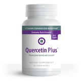 Quercetin is a natural, plant-derived flavonoid 400 times more potent than vitamin E that protects against free radical damage. Additionally, Quercetin has been used for decades to help support a healthy cardiovascular and immune system.
