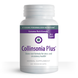 Take a natural approach to sinus health with Collinsonia Plus.  In this one-of-a-kind formula, Dr. Peter J. D'Adamo blended Collinsonia, or stone root, with the highest quality Larch arabinogalactan to naturally maintain the health and comfort of the throat and sinus cavity.
