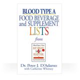 These Eat Right 4 Your Type Portable and Personal Blood Type Guides are pocket-sized and user-friendly.