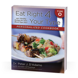 From Dr. Peter J. D'Adamo, the author of the New York Times bestseller Eat Right for Your Type, and Chef Kristin O'Connor, comes theEat Right for Your Type Personalized Cookbook Type O, the first cookbook designed to meet your unique nutritional needs by following the principles of the Blood Type Diet.