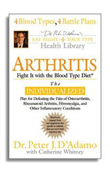 Arthritis: Fight It With The Blood Type Diet (softcover)