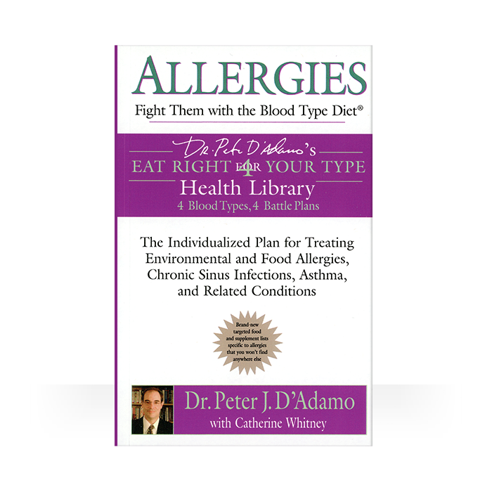 Allergies: Fight It With The Blood Type Diet (softcover)