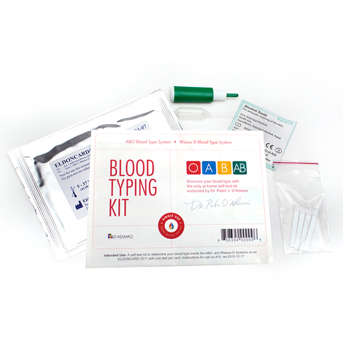 Blood Typing Single Kit