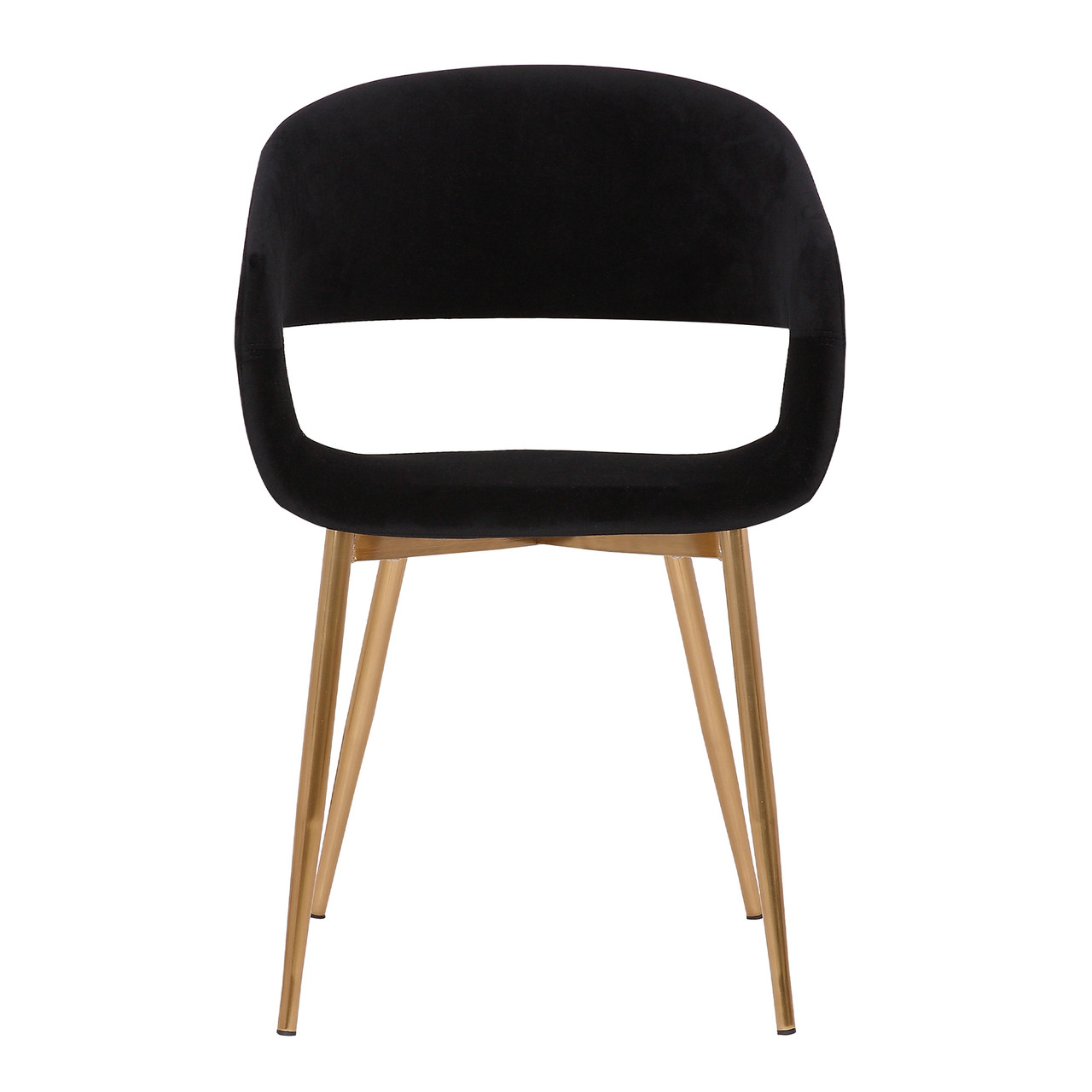 Jocelyn Mid Century Grey Dining Accent Chair With Black Metal Legs Furniture East Inc