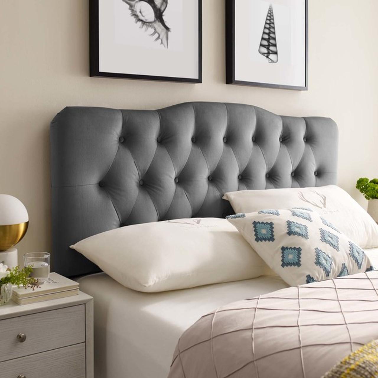 Queen Headboard Upholstered