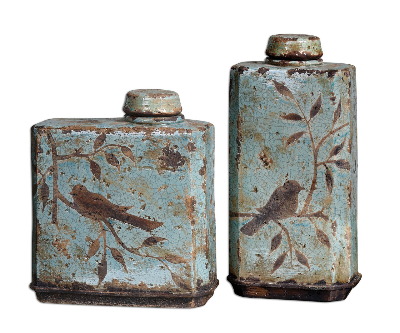 Decorative Bottles & Canisters
