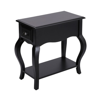 Arroyo Grande 1-Drawer Accent Table in Black