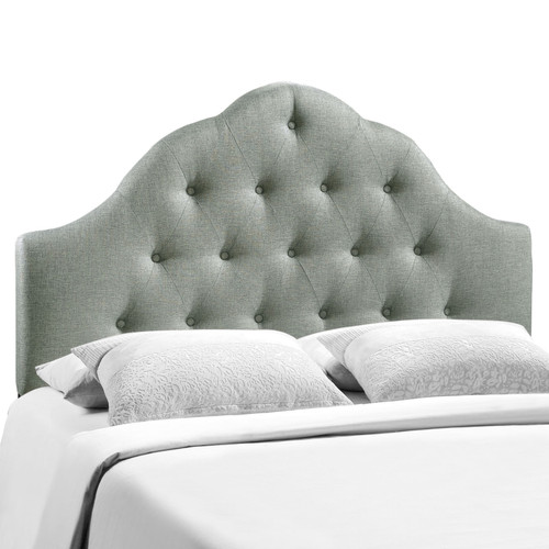Sovereign Full Upholstered Fabric Headboard Gray MOD-5164-GRY