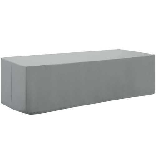 Immerse Convene / Sojourn / Summon Chaise or Sofa Outdoor Patio Furniture Cover Gray EEI-3143-GRY