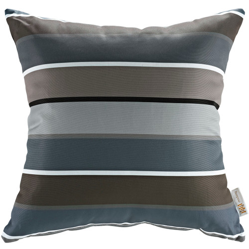 Modway Outdoor Patio Single Pillow Stripe EEI-2156-STR