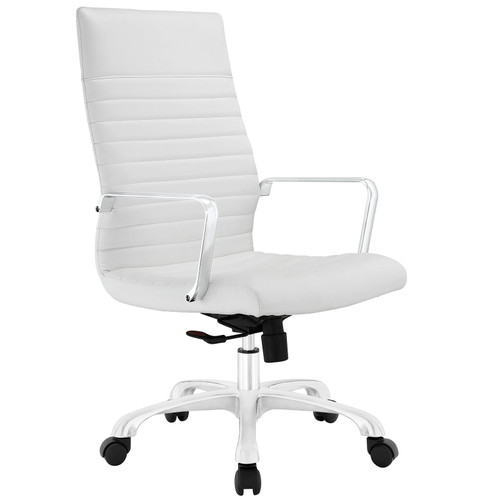 Finesse Highback Office Chair White EEI-1061-WHI