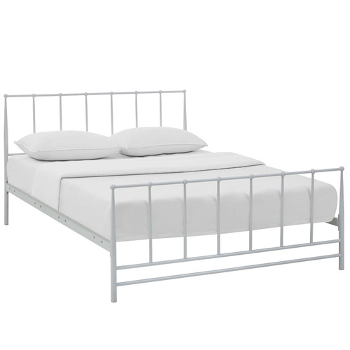 Estate Full Bed White MOD-5481-WHI