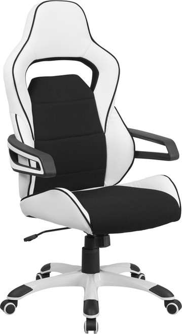Contemporary Office Chair with Wrap Around Arms