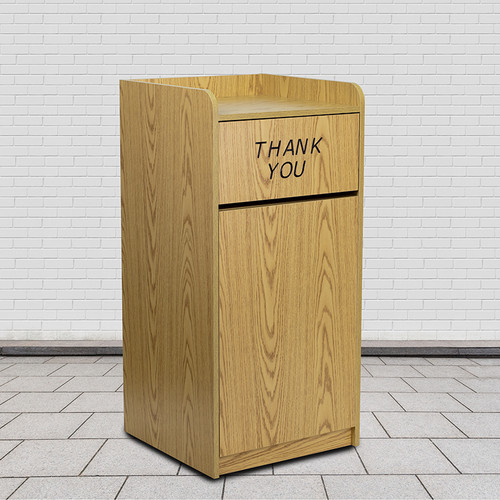 Commercial Grade Trash Receptacle