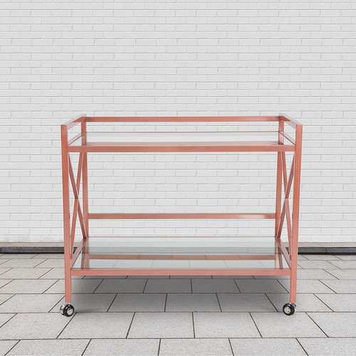 Mobile Serving Bar Cart
