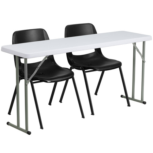 Fully Assembled Training Table Set