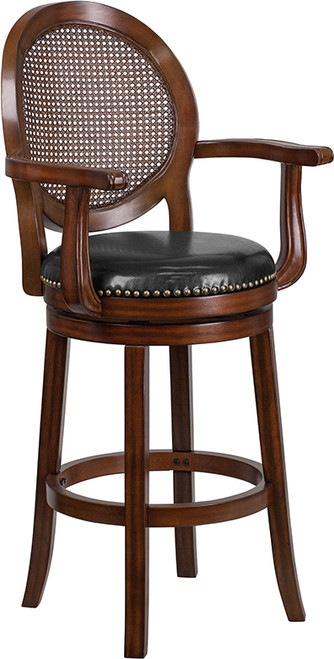 Transitional Style Dining Stool - Bar Height Stool