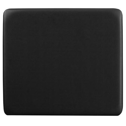 Black Vinyl Padded Seat
