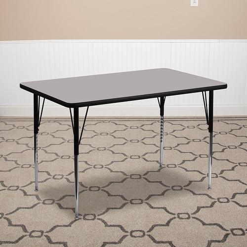 Popular Rectangular Activity Table
