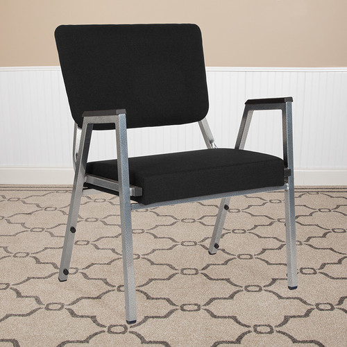 Medical Waiting Room Chair with 1500 lb. Static Weight Capacity