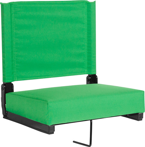 Folding Stadium Chair with Carrying Handle Grip