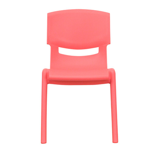 Red Plastic Stack Chair YU-YCX-001-RED-GG