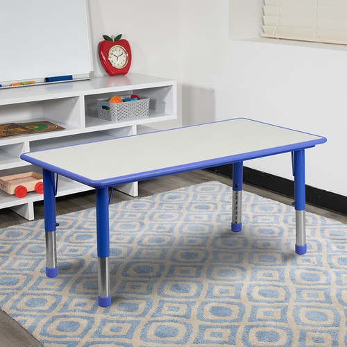 Rectangle Activity Table