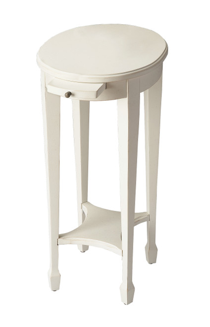 Butler Arielle Cottage White Accent Table