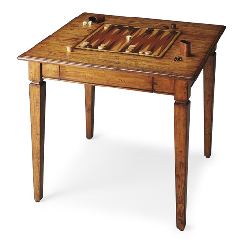 Butler Breckinridge Rustic Game Table