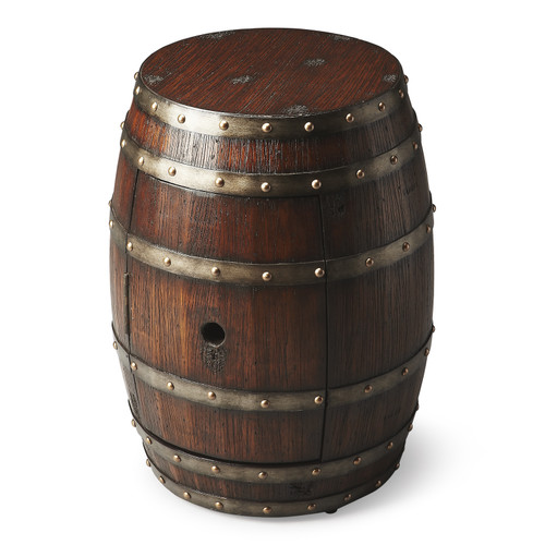 Butler Calumet Rustic Barrel Table