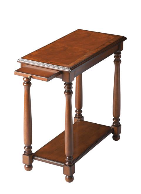 Butler Devane Olive Ash Burl Chairside Table
