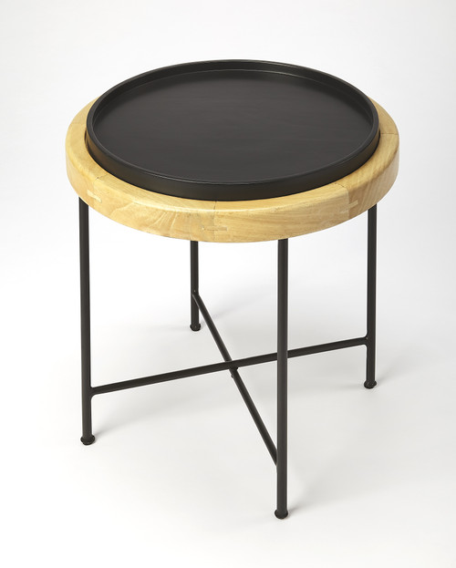 Butler Rochester Wood & Metal Accent Table