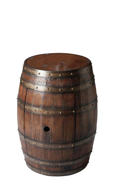 Butler Lovell Rustic Barrel Table