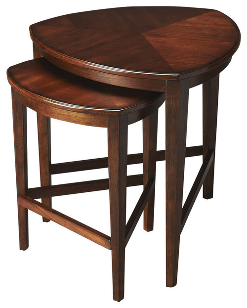 Butler Finnegan Antique Cherry Nesting Tables