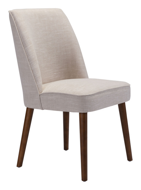 Kennedy Dining Chair Beige Set of Two